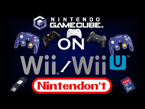 Nintendont Tutorial - PLAY GAMECUBE GAMES ON WII/WIIU WITH USB OR SD!