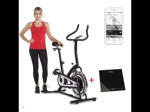 Fitbill Smart Indoor Cycling Exercise Bike W/Speed Sensor UNBOXING & ASSEMBLY (B603)