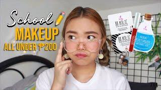 TIPID SCHOOL Makeup For TEENS 2018 (All Under 200 PESOS)