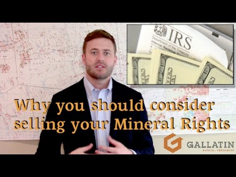 Why Sell Your Mineral Rights