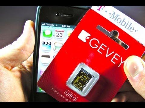 iPhone 4 5.0.1 Unlock Gevey Ultra Sim - 5.0.1/5.0 Untethered Unlock 4.10.01/3.10.01/2.10.04