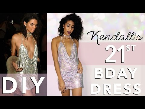 DIY KENDALL & PARIS 21ST BIRTHDAY DRESS | Adonia Bree