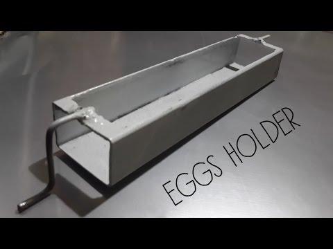 DIY Auto-Egg Turner part #1 (The egg holder)