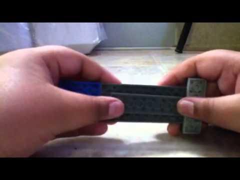 how to make a lego knife