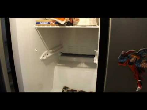 DIY - How to Thaw Out Your Frozen Freezer Drain Plug