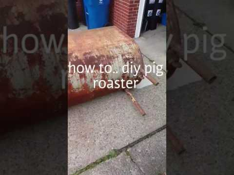 Diy pig roaster part 1 of the hog hugger