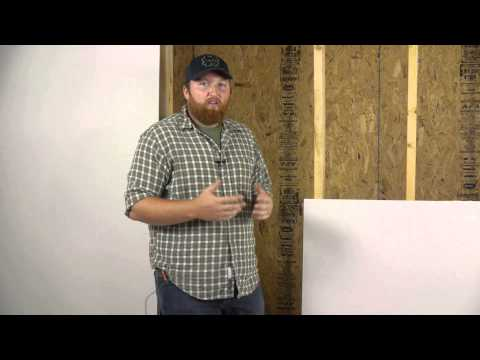 Drywall: Horizontal vs. Vertical Installation : Wall Repair