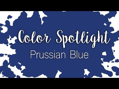 Color Spotlight: Prussian Blue / Watercolor Color Profile