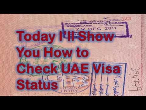 Guide: Check UAE Visa Status