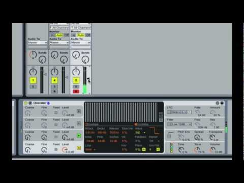 How to make a Wobble Bass in Ableton Live | Operator | Dubstep