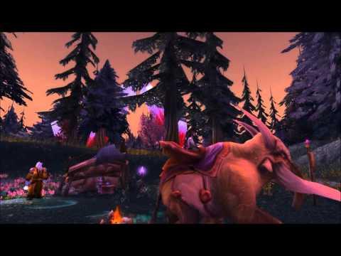20 minutes Bloodmyst Isle music - ingame - World of Warcraft