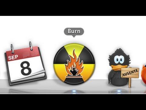 Como quemar un CD de datos (Documentos, Musica, Videos ) en MAC