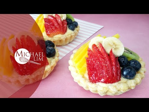 Pastry Cream Fruit Tartlets