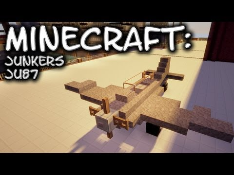 Minecraft: Junkers Ju 87 Tutorial