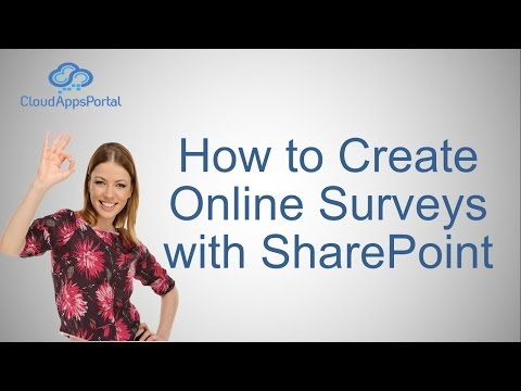 How to Create Online Surveys with SharePoint