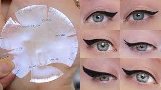 DIY Winged Eyeliner Tools PARODY