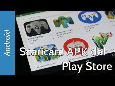 Come scaricare APK dal Play Store (e senza usare programmi aggiuntivi)