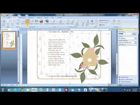 How to Create a Flyer in MS Word.mp4