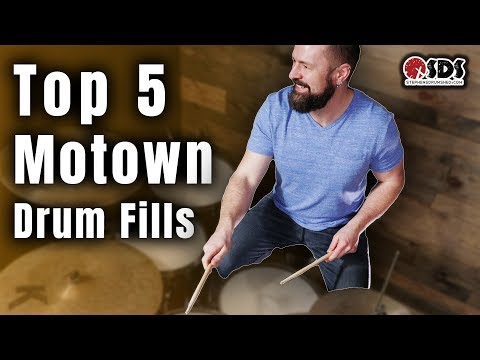 5 Motown Drum Fills You Need To Know | Drum Lesson