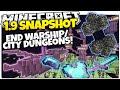 Minecraft 1.9 Snapshot | NEW END CITY DUNGEON & WARSHIP | Epic Loot! (Minecraft 1.9 News)