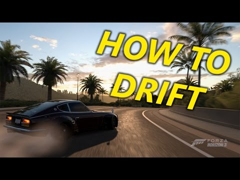 How to Drift in Forza Horizon 3 (Tuning/Mods/Technique Basics)