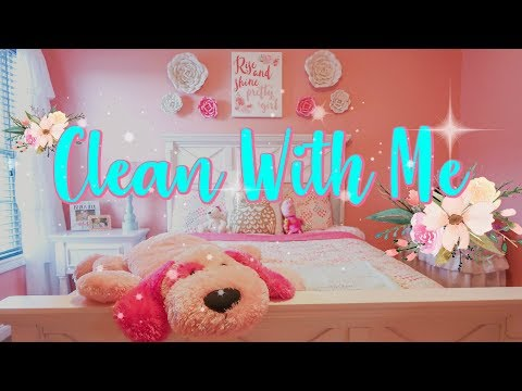 Clean With Me/ Kids Room Cleaning Motivation/ Spring Cleaning/Watch Me Clean Wednesday