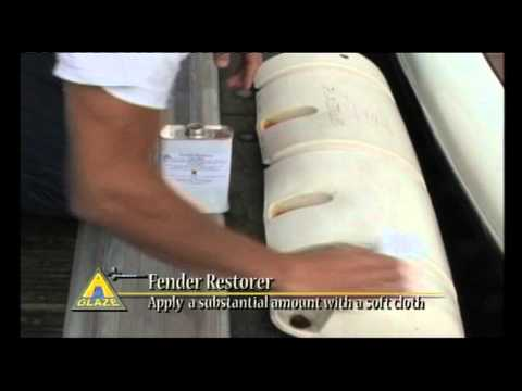 Boat and Yacht Cleaning Product -- A Glaze Fender Restorer.mov