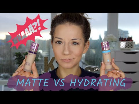 Tarte Shape Tape Foundation Review | Matte VS Hydrating