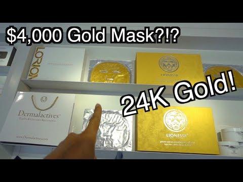 L.A. Lifestyle - 24k Gold Facial Mask!