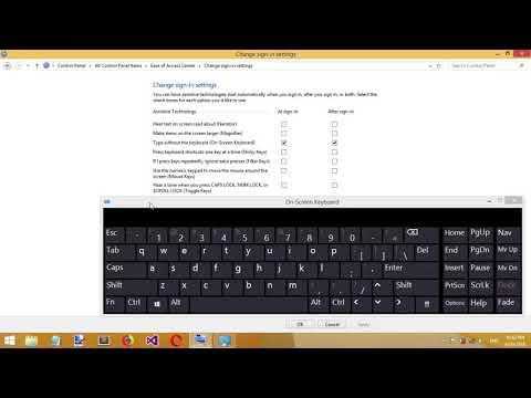 how to Manage Onscreen Keyboard Settings-Windows 8/8.1/10