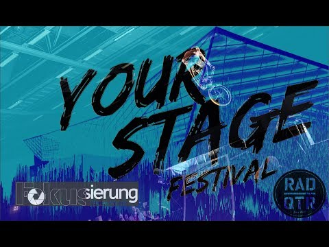 Fokussierung with RadQuartier at the Your Stage Festival 2018