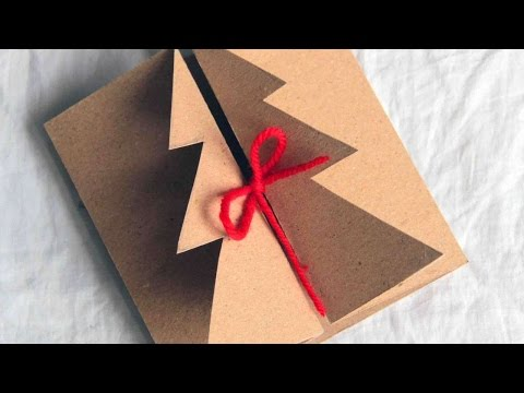 How To Make A Handmade Christmas Card - DIY Crafts Tutorial - Guidecentral