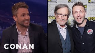 """Chris Hardwick: Spielberg Refused To Do The """"E.T"""" Finger Touch With Me  - CONAN on TBS"""