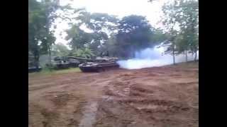 War Tank Drift in Sri lanka
