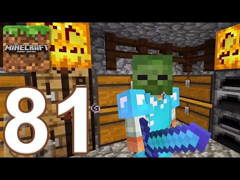 Minecraft: Pocket Edition - Gameplay Walkthrough Part 81 - Survival (iOS, Android)