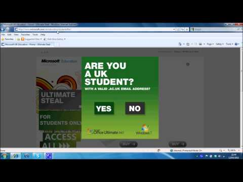 Cheap Microsoft Office For UK Students