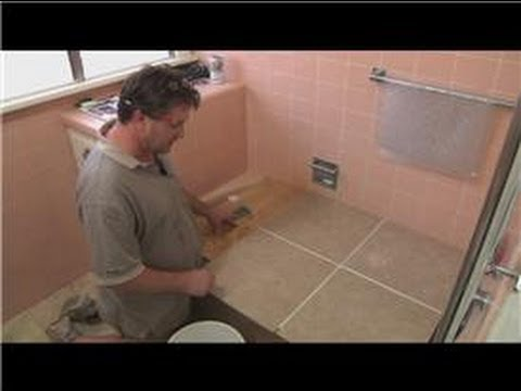 Cleaning Tile  : How to Clean Bathroom Floor Tiles