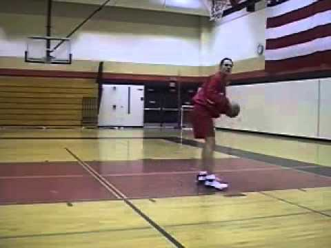 How to Do a Post Move Drop Step in Basketball