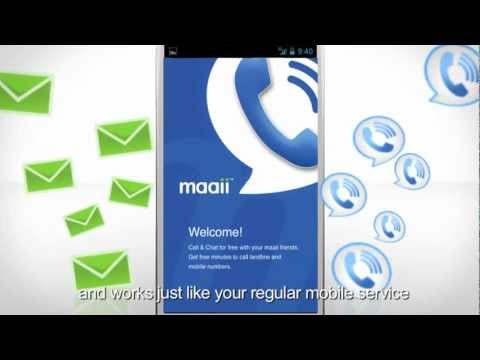 Maaii: Calling and Texting Friends for Free on Facebook and more.