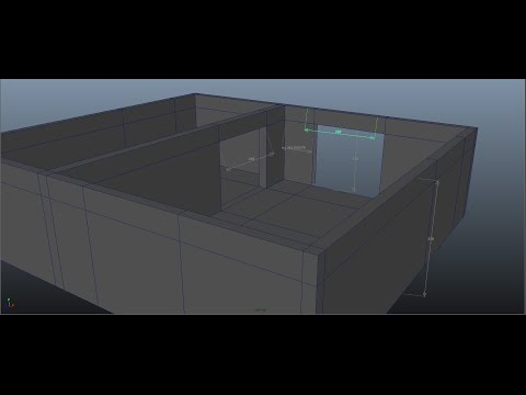 [TIMELAPSE] Interior Design  in Autodesk Maya Series 1 [P1]