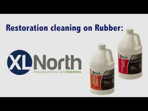 Rubber Floor Deep Clean