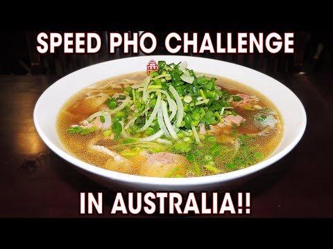 SUPER FAST PHO CHALLENGE IN SYDNEY!!
