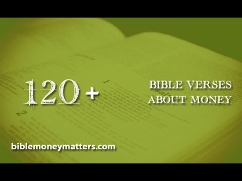 Bible Verses About Money