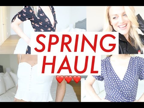 SPRING HAUL | TRACY CAMPOLI | SPRING 2018 STYLE