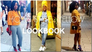 How I Style YELLOW | LOOKBOOK