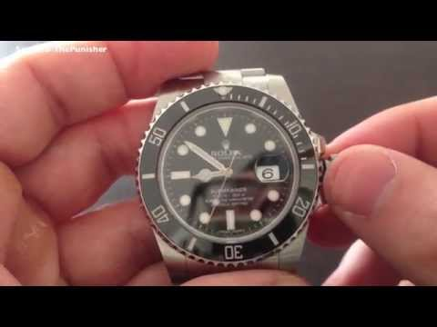 Set the Time and Date on a Rolex Submariner