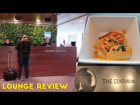Amex CENTURION LOUNGE at LGA Review