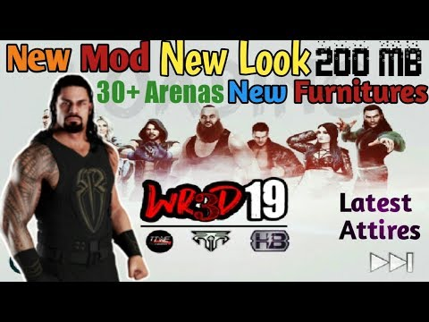 New Mod! Wr3d'19 Mod   By Rated Rrs   WWE 2k19 Mod   New