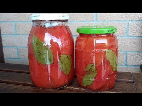 Italian homemade Peeled tomatoes