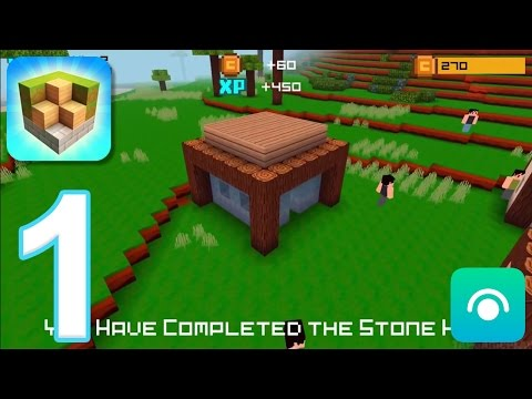 Block Craft 3D: City Building Simulator - Gameplay Walkthrough Part 1 - Level 1-4 (iOS)